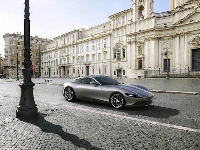 Ferrari presenta su creación más bella, la nueva Roma.