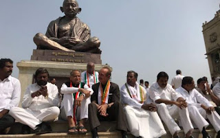 congress-jds-protest-oath