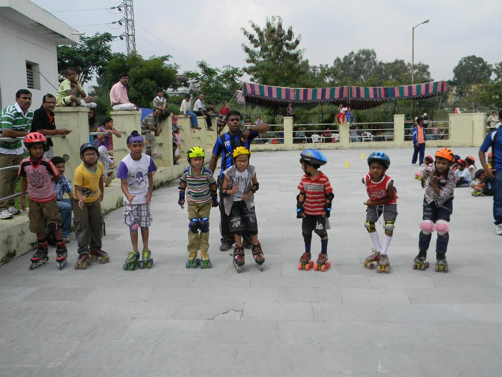 Roller shoes in hyderabad - Skating Classes At Manikonda In Hyderabad Shoes With Skates