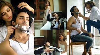 Syra Yousaf and Sheheryar Munawar Stunning Photoshoot for OK Pakistan