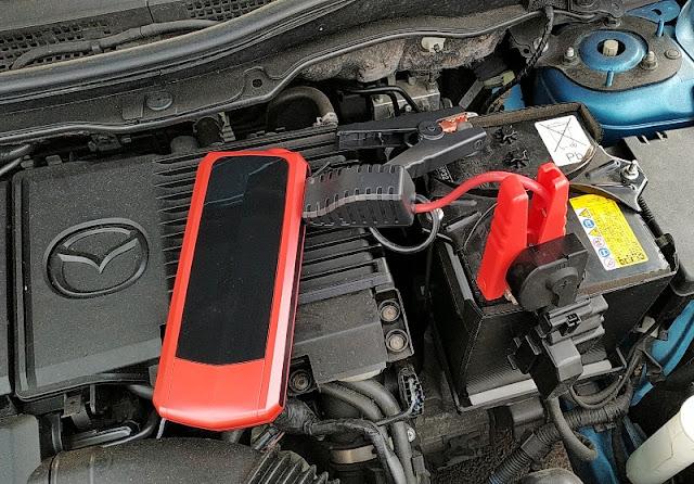 Audew Usb C Jump Starter Car Battery 20000mah Power Bank Gadget