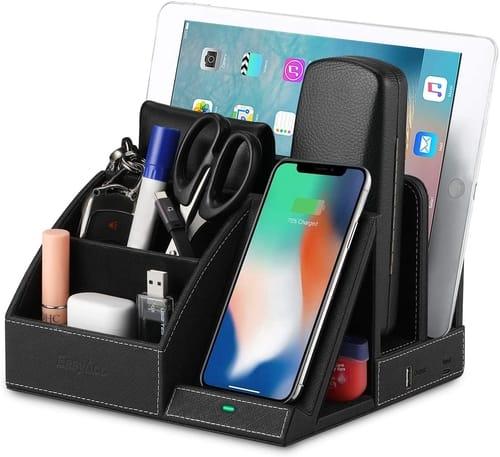 EasyAcc Desk Organizer USB Charging Station