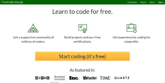 situs website untuk belajar coding gratis