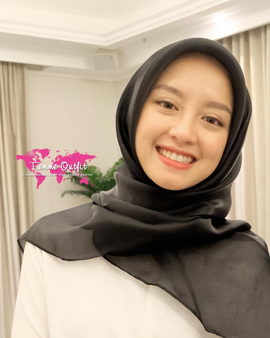 Gambar Tutorial Hijab Nissa Sabyan  Tutorial Hijab