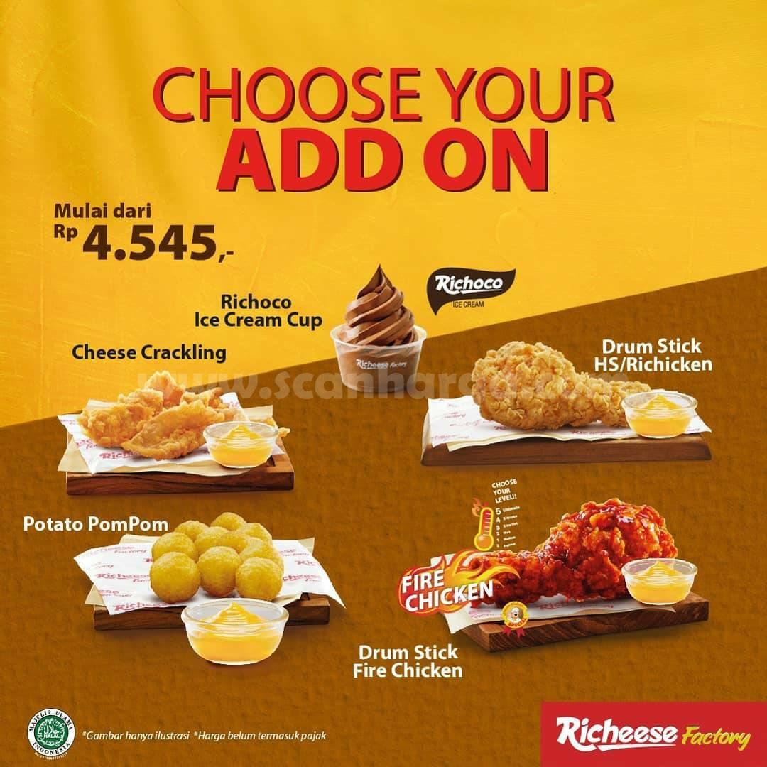 Richeese Factory Promo Paket New Hemat mulai Rp 20.000