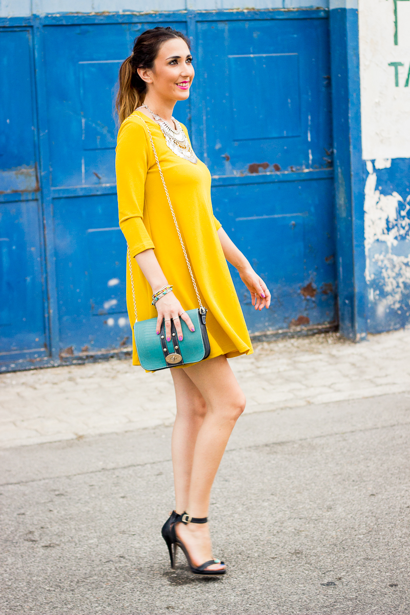 Mustard Color Shoe Uk Outfit