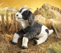 goat puppet Folkmanis