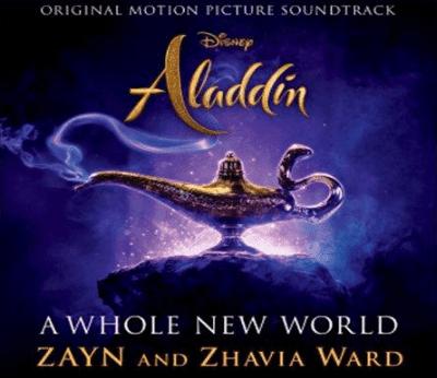 Not Angka Pianika A Whole New World dari Zayn feat Zhavia Ward
