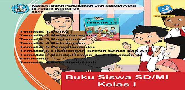 Materi Buku Kelas 1 Tematik 1-8 Kurikulum 2013 Lengkap
