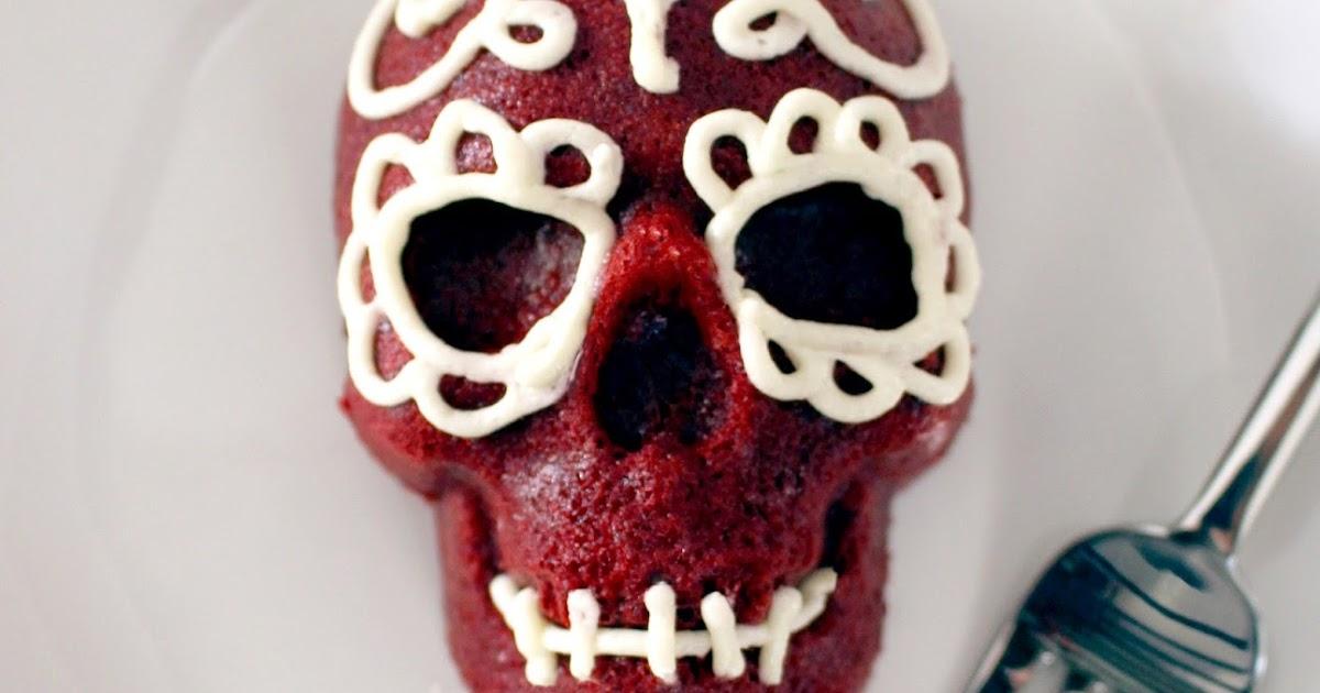 Shore Society Make It Red Velvet Skull Cakes