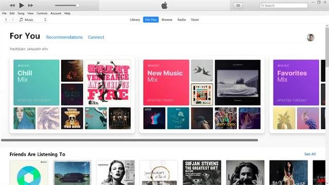 تحميل برنامج iTunes للكمبيوتر 2020 برابط مباشر اخر اصدار