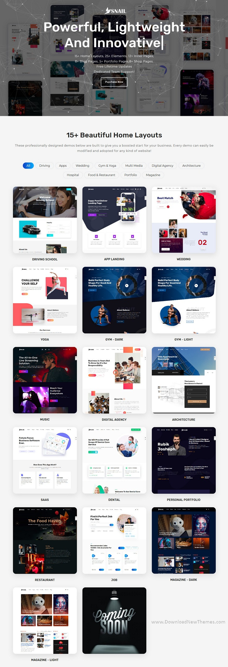 Creative Multipurpose HTML5 Templates