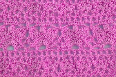6 - Crochet Imagen Combinación puntadas de crochet por Majovel Crochet