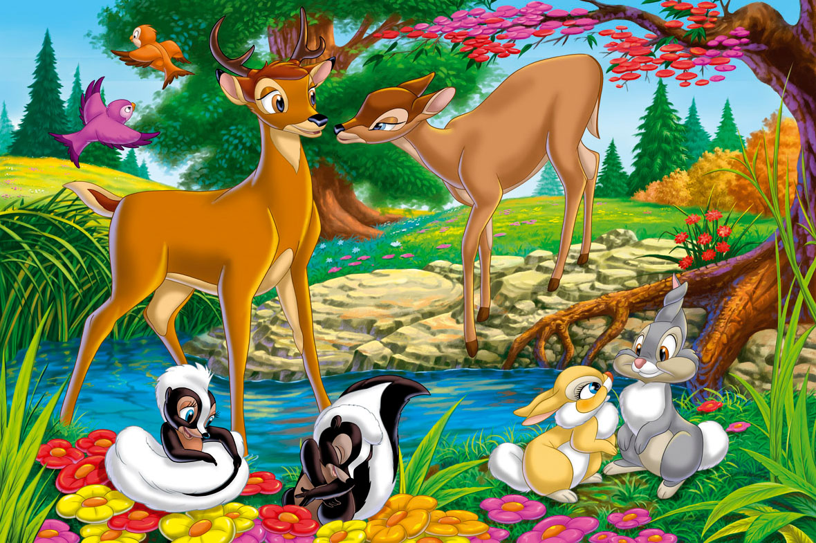Fotos Pantalla Con Dibujos: 10 Disney Animal Bambi Characters Wallpaper