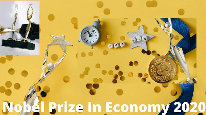 Nobel Prize In Economy 2020