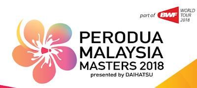 Pemain Indonesia di Perodua Malaysia Masters 2018