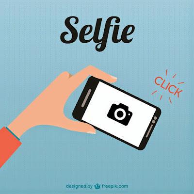 Selfie Dengan Gamis Syari