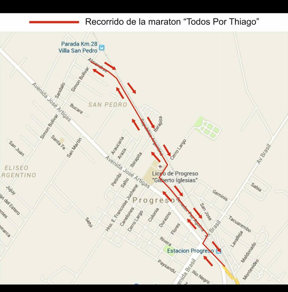 Run uruguay 08 03 16 for Inscripciones jardin 2016 uruguay