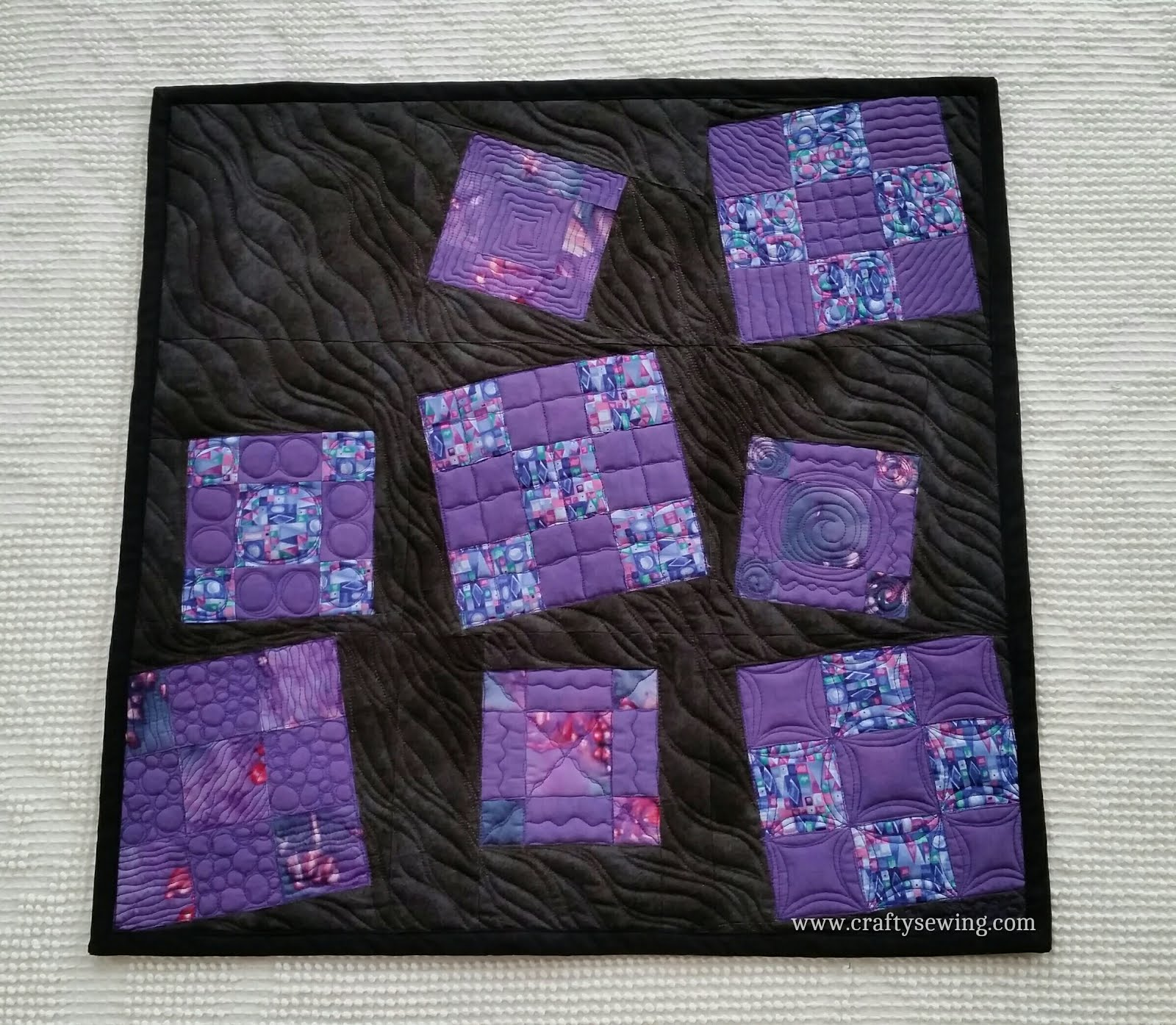 2015 Off Season Project Quilting - October