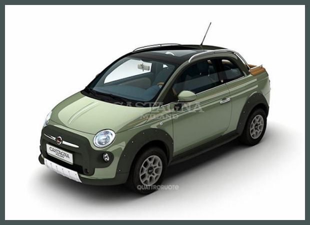 5ooblog | FIAT 5oo: New Fiat 500 & 500 C Pick-up Concept