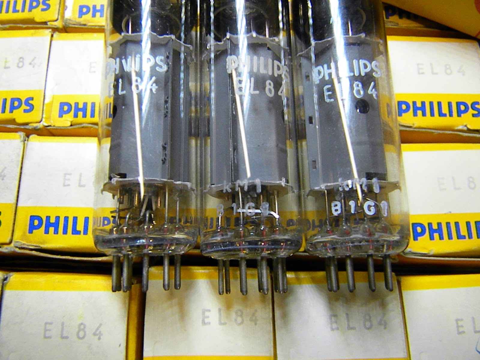 NOS Tube Store: Mullard EL84 / CV2975 Gt Britain