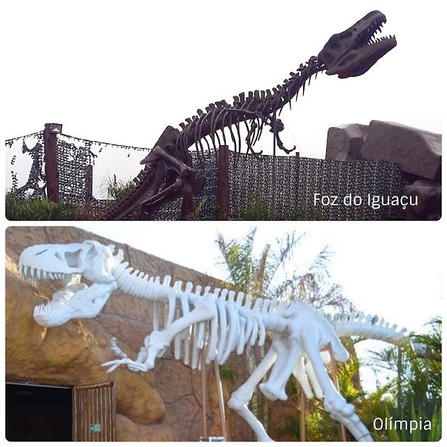 Vale dos Dinossauros - Olímpia - SP