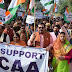 सीएए के समर्थन में भाजपाईयों ने निकाली जनजागरण पत्र यात्रा