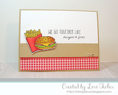 We Go Together card-designed by Lori Tecler/Inking Aloud-stamps from Clear and Simple Stamps