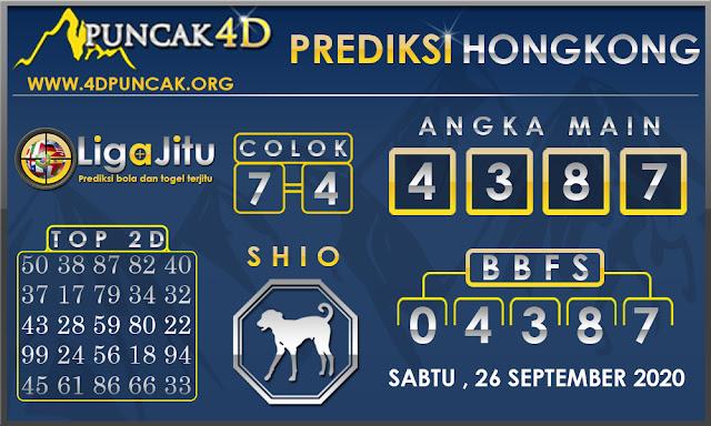 PREDIKSI TOGEL HONGKONG PUNCAK4D 26 SEPTEMBER 2020