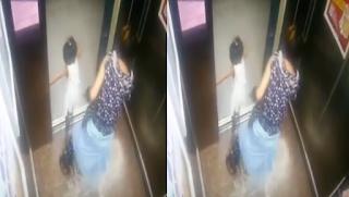 Tangan Anak Kejepit Pintu Lift