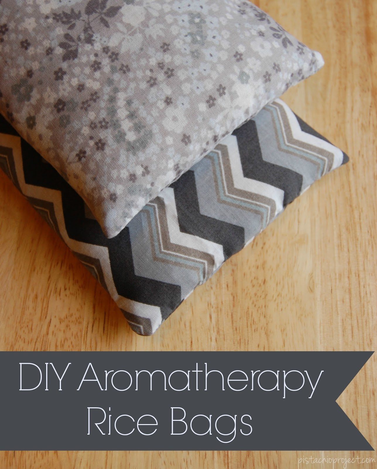 DIY Aromatherapy Rice Bag  The Pistachio Project