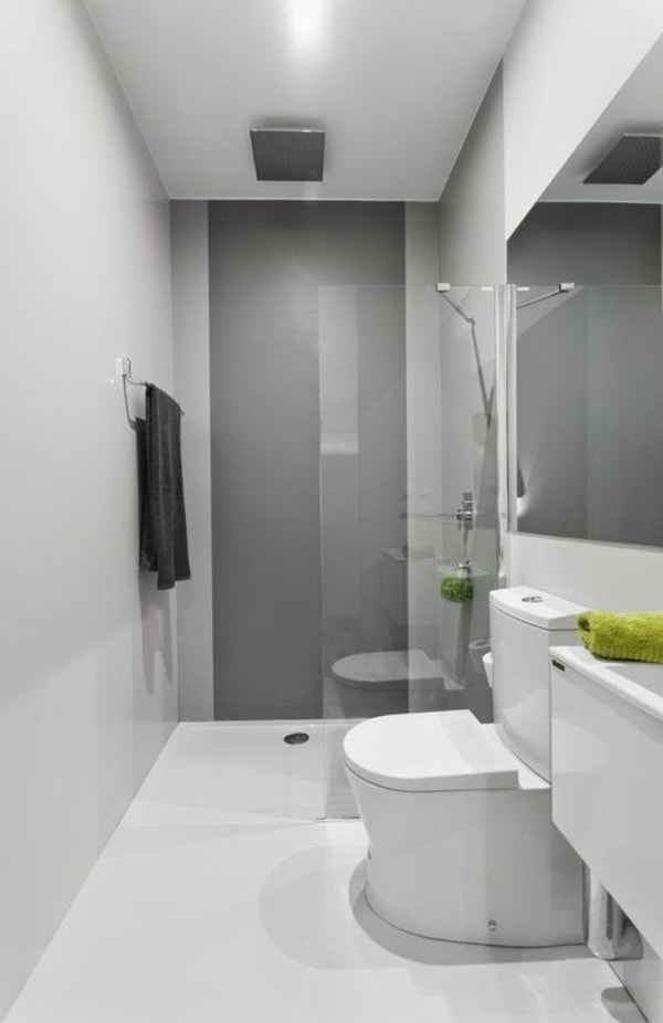 Solutions To Decorate Small Bathrooms 6