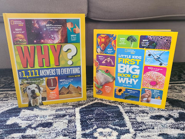 Boredom Busters from National Geographic Kids + Book Duo #Giveaway