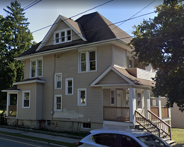 color photo from Google maps streetview of Sears No 163 at 15 Innis Avenue, Poughkeepsie, New York