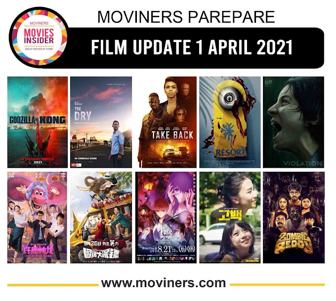 FILM UPDATE 1 APRIL 2021