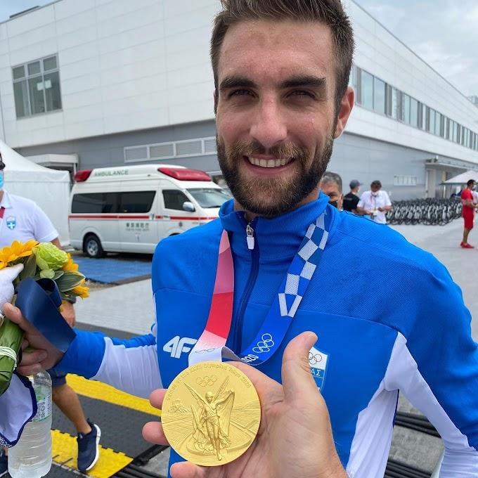 ΠΕΑΚΙ: Συγχαρητήρια τον χρυσό ολυμπιονίκη Στέφανο Ντούσκο