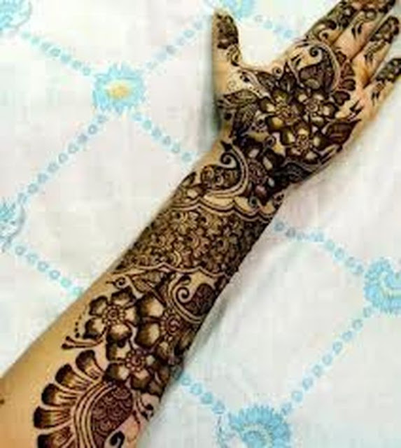 Latest Arabic Mehndi Designss For Hands