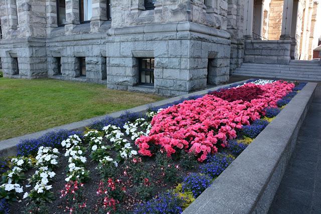 Parliament Victoria Island flowers