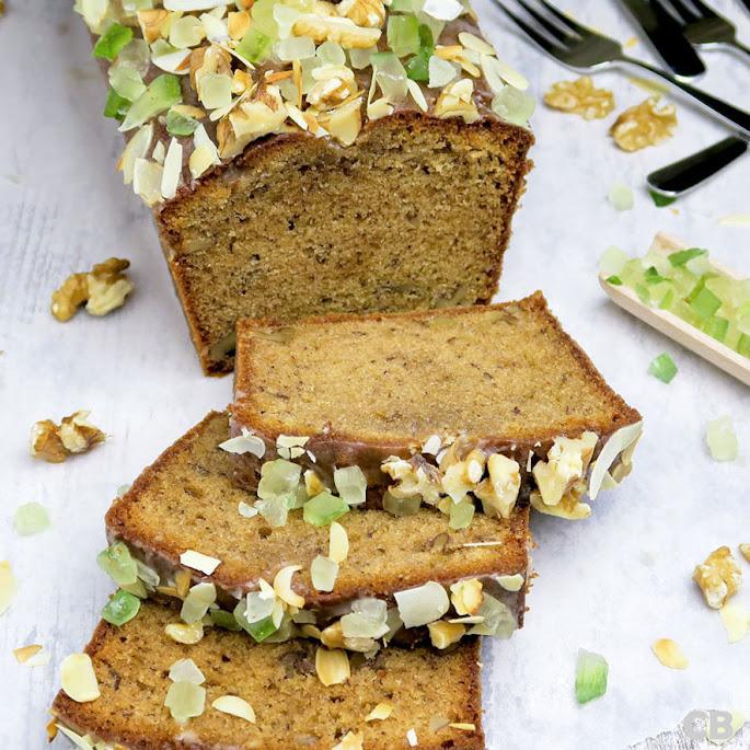 Recept Smeuïge kruidcake met walnoten en honing