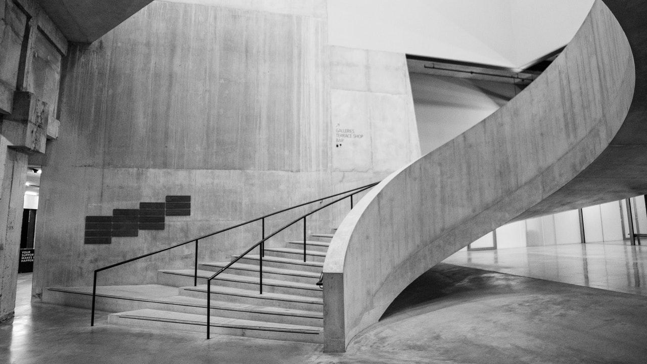 concreto pulido en muros