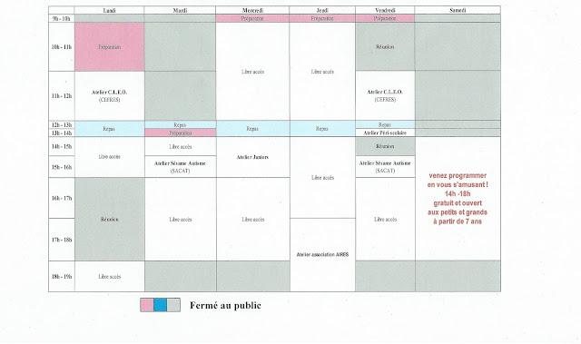 semaine du 29 février au 04 mars 2016