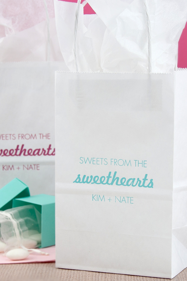 Sweets From The Sweethearts Favor Bags