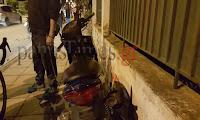 Πάτρα: Δύο τραυματίες σε τροχαίο - Σύγκρουση μηχανής με ποδήλατο στην Πατρών - Αθηνών (βίντεο - φώτο)