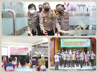 Kapolda Jateng Tinjau Instalasi PCR dan Forensik Klinik RS Bhayangkara Semarang