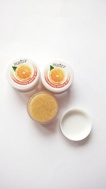 Mariza pomarańczowy peeling do ust