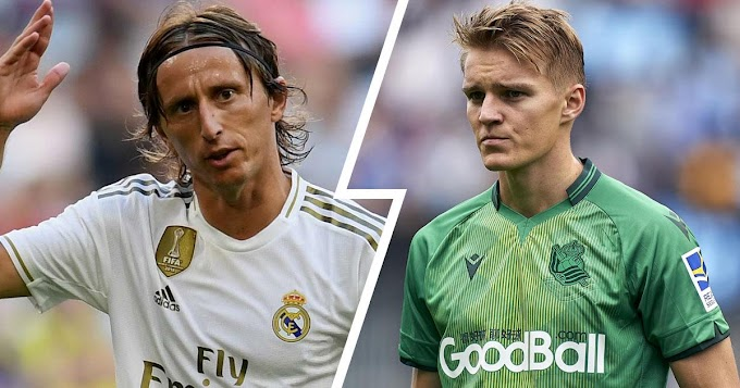 Odegaard to compete with Modric in Real Madrid midfield this season