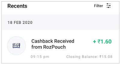 cashout proof