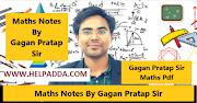 Math Specialist Gagan Sir Best Handwritten Maths Class notes for SSC Download PDF (Hindi)