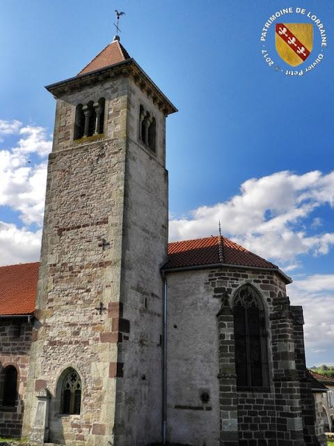 GELVECOURT-ET-ADOMPT (88) - Eglise Saint-Martin d'Adompt
