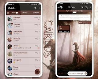 Samuray Theme For YOWhatsApp & Fouad WhatsApp By  Carlos